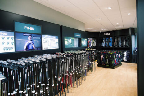 Pop in store today to speak with one of our knowledgeable and friendly PGA Club Fitters who will be happy to help with your equipment decisions.